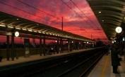 In stazione a Cattolica