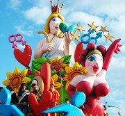 Carro allegorico al Carnevale di Fano