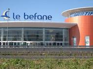 Centro commeciale Le Befane di Rimini, particolare esterno