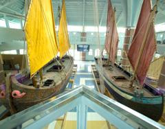 Museo della Marineria, sezione terra